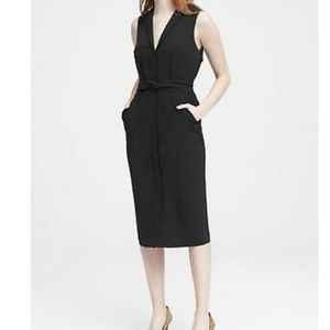 Banana Republic trench dress with belt